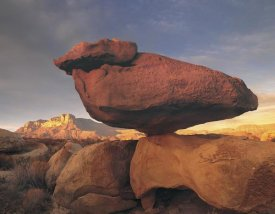 Tim Fitzharris - Balanced rock, Guadalupe Mountains, Texas