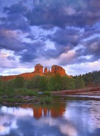 Tim Fitzharris - Cathedral Rock reflected in Oak Creek at Red Rock Crossing, Arizona