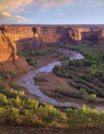 Tim Fitzharris - View from Tsegi Overlook, Cayon de Chelly National Monument, Arizona