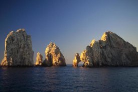 Konrad Wothe - Sea stacks and natural bridges, Cabo San Lucas, Baja, Mexico