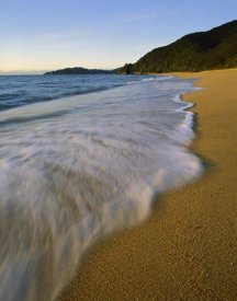 Harley Betts - Waves on Totaranui Beach, Abel Tasman National Park, New Zealand