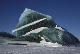 Tashi Tenzing - Iceberg trapped in sea ice, Antarctica