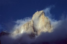 Geoff Gabites - Trango Tower in morning mist, Karakoran Mountains, Pakistan