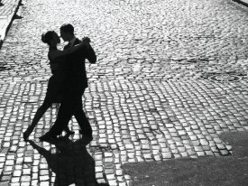 Anonymous - Dancers performing the Tango