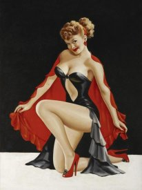Peter Driben - Mid-Century Pin-Ups - Magazine Cover - Little Red Cape
