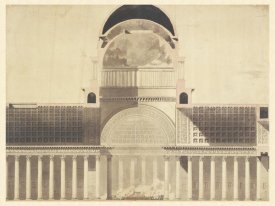 Etienne-Louis Boullée - Architectural Project for the Church of the Madeleine, 1777 - 1785