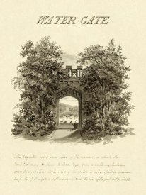 Humphry Repton - Water-Gate, 1813