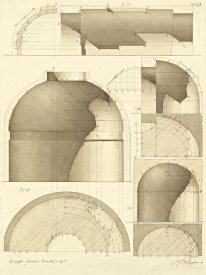 Giuseppe Vannini - Plate 51 for Elements of Civil Architecture, ca. 1818-1850
