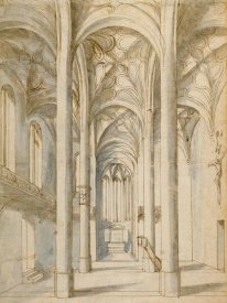 Paul Juvenal the Elder - Interior of a Gothic Church, 1629