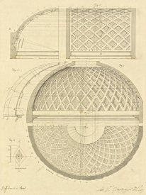 Giuseppe Vannini - Plate 43 for Elements of Civil Architecture, ca. 1818-1850