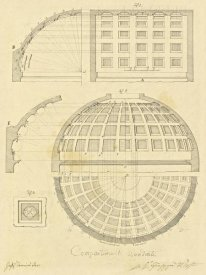 Giuseppe Vannini - Plate 42 for Elements of Civil Architecture, ca. 1818-1850