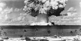 U.S. Navy - Bikini Atoll - Operation Crossroads Baker Detonation - July 25, 1946: DBCR-T1-318-Exp #6 AF434-4