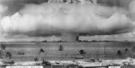 U.S. Navy - Bikini Atoll - Operation Crossroads Baker Detonation - July 25, 1946: DBCR-T1-318-Exp #2 AF434-6