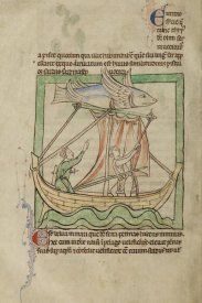 English 13th Century - A Flying Fish
