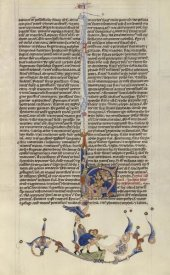 Italian 13th Century - Page from the Abbey Bible