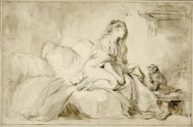 Jean-Honoré Fragonard - Oh! If Only He Were as Faithful to Me
