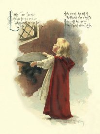Maud Humphrey - Nursery Rhymes: Little Tom Tucker