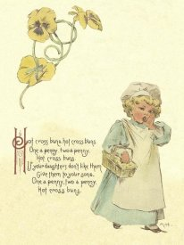 Maud Humphrey - Nursery Rhymes: Hot Cross Buns