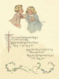 Maud Humphrey - Nursery Rhymes: There Was a Little Boy and a Little Girl