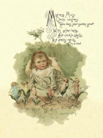 Maud Humphrey - Nursery Rhymes: Mistress Mary Quite Contrary