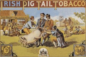 Advertisement - Pigs and Pork: Irish Pig Tail Tobacco