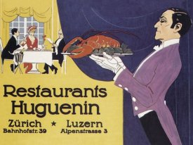 Advertisement - Cooks: Restaurants Huguenin