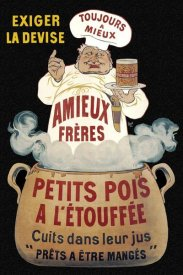 Eugene Oge - Cooks: Amieux Freres - Petits Pois a lEtouffee