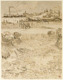 Vincent van Gogh - Arles:  View from the Wheatfields