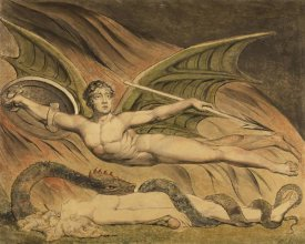 William Blake - Satan Exulting over Eve