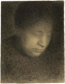 Georges Seurat - Madame Seurat, the Artists Mother (Madame Seurat, mère)
