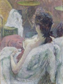 Henri de Toulouse-Lautrec - The Model Resting