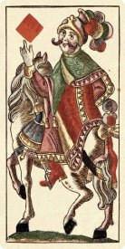Andreas Benedictus Göbl - Knight of Diamonds (Bauern Hochzeit Deck)