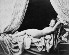 Felix Jacques Moulin - Female Nude, 1856