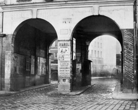 Charles Marville - Paris, about 1865 - The Double Doorway, rue de la Ferronnerie