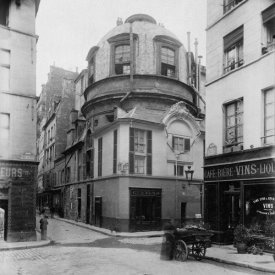 Eugène Atget - Paris, 1898 - The Old School of Medicine, rue de la Bûcherie