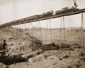 William Henry Jackson - Dale Creek Bridge, Wyoming, Union Pacific Railway, 1885