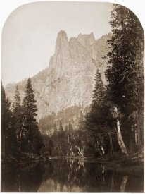 Carleton Watkins - Sentinel (View of the Valley) 3270 ft. Yosemite, California, 1861