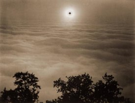 Carleton Watkins - Solar Eclipse from Santa Lucia Range, California, January 1, 1889