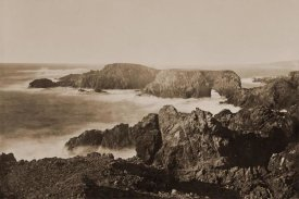 Carleton Watkins - Coast View off Mendocino, California, 1863