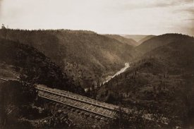 Carleton Watkins - Cape Horn, C.P.R.R., Nevada County, California, about 1880