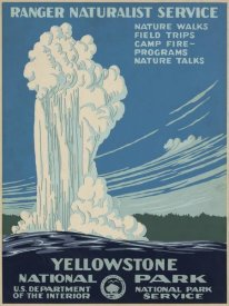 Ranger Naturalist Service - Yellowstone National Park, ca. 1938