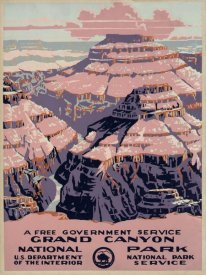 WPA - Grand Canyon National Park, a Free Government Service, ca. 1938