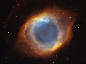 NASA - Helix Nebula -  a Gaseous Envelope Expelled By a Dying Star