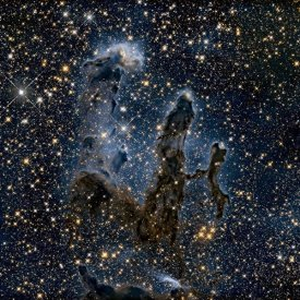NASA - A Near-Infrared View of the Pillars of Creation