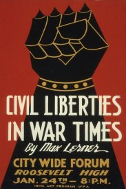 WPA - Civil Liberties in War Times - Lecture