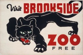 WPA - Brookfield Zoo - Panther