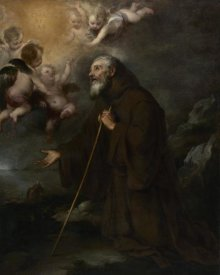 Bartolomé Esteban Murillo - The Vision of Saint Francis of Paola