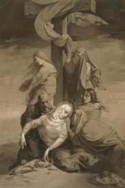 Henri Lehmann - Lamentation at the Foot of the Cross
