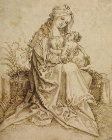 Unknown - The Virgin and Child on a Grassy Bench