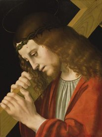 Marco d'Oggiono - Christ Carrying the Cross